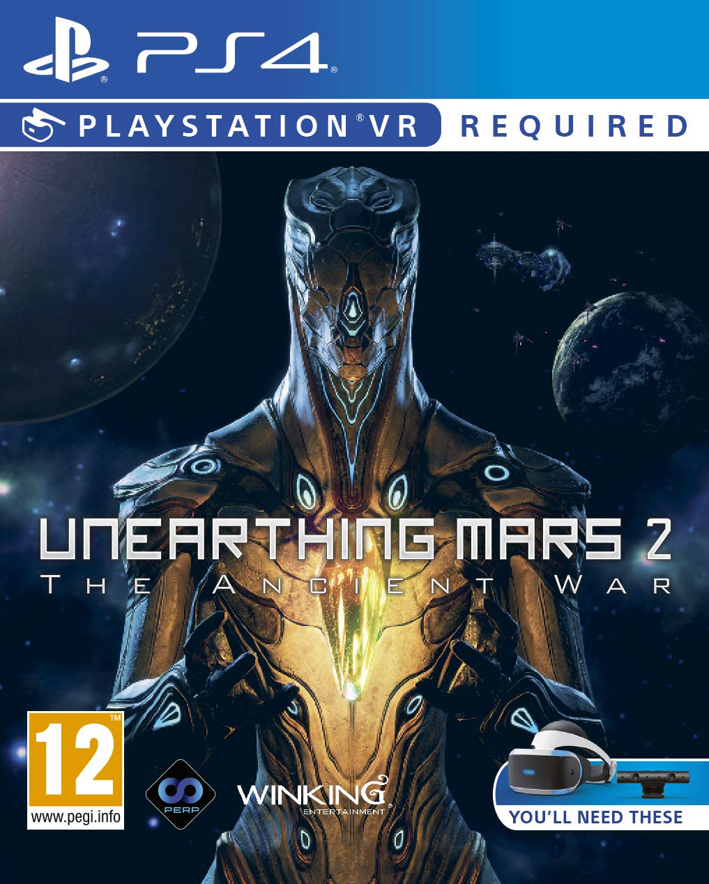 Unearthing Mars2: The Ancient War (PSVR) (PS4): Amazon co uk