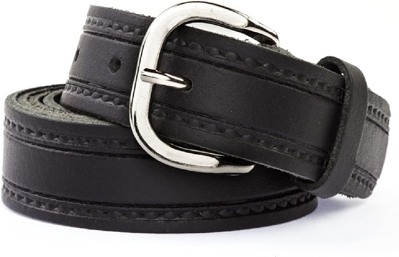 "140-180cm 3cm - Width 1.2"" Shenky Total Length 55""-71"" Leather Belt"