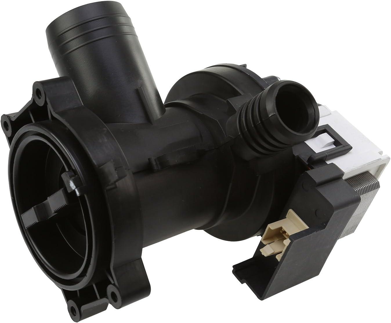 MasterPart M00341 - Bomba de desagüe para lavadoras Whirlpool y Maytag (30 W)