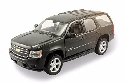 Welly 2008 Chevrolet Tahoe Suv 1 24 Diecast Model Car Black