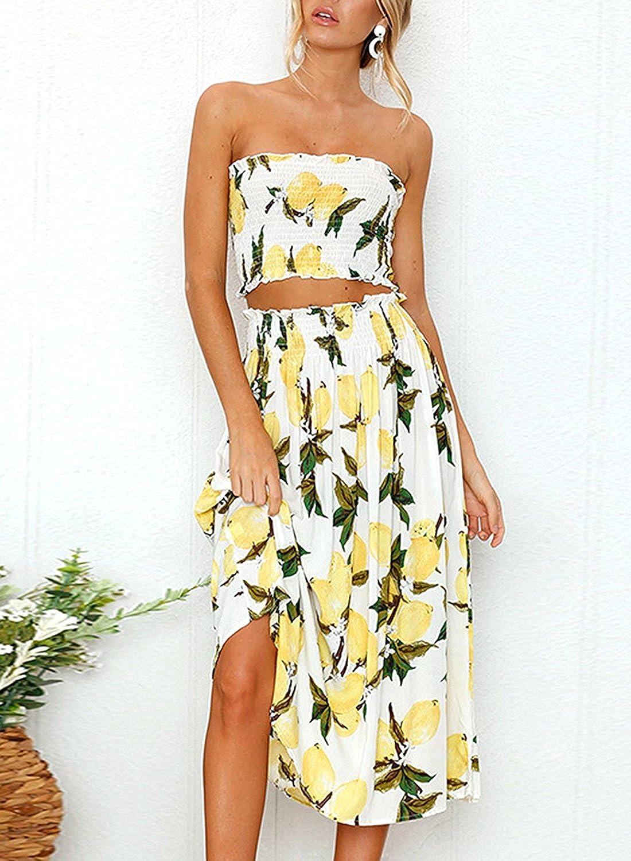 87dcd92deef36 2 Piece Summer Dress