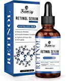 Kanzy-Retinol Serum2.5% -Moisturizer for Face and Dry Skin with Hyaluronic Acid, Vitamin C and E-Organic Skin Care Moisturizer to Reduce Wrinkles, Fine Lines and Dark Circles-Tonic for Face and Body-30ml