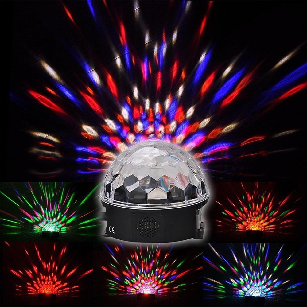 Super Beautiful LED RGB Crystal Magic Effect Ball light DMX Disco DJ Stage Lighting Play