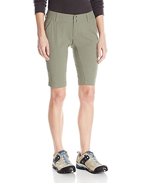 11e1d6e4a9 Columbia Women's Saturday Trail Long Short, Water & Stain Resistant,  British Tan, ...