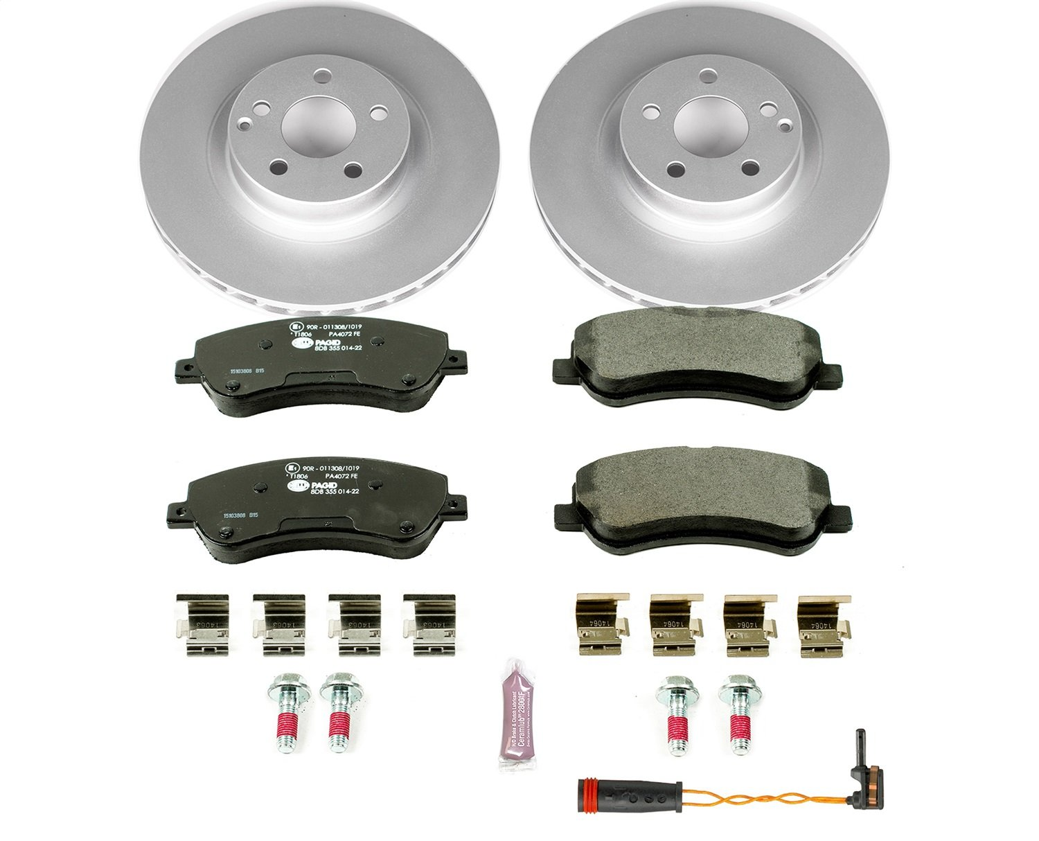 Power Stop ESK6603 Front Euro-Stop Brake Kit by POWERSTOP (Image #1)