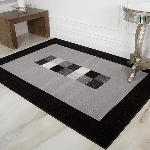 tapis cuisine tapis tisses a plat noir