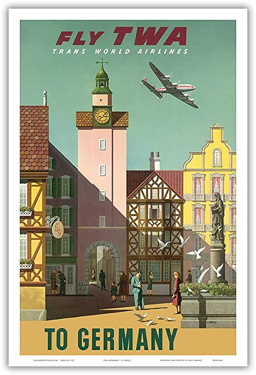 24x36 1920/'s International Air Races Vintage Aviation Poster