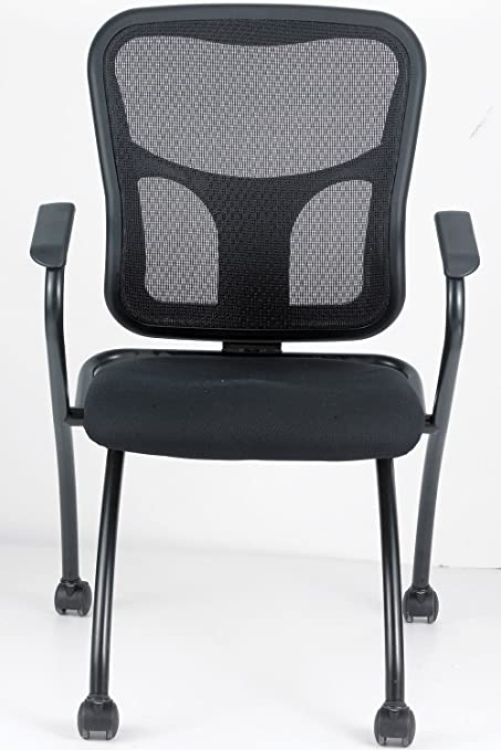 Eurotech Flip   Office Nesting Chair With Arms NT5000ARM BLK