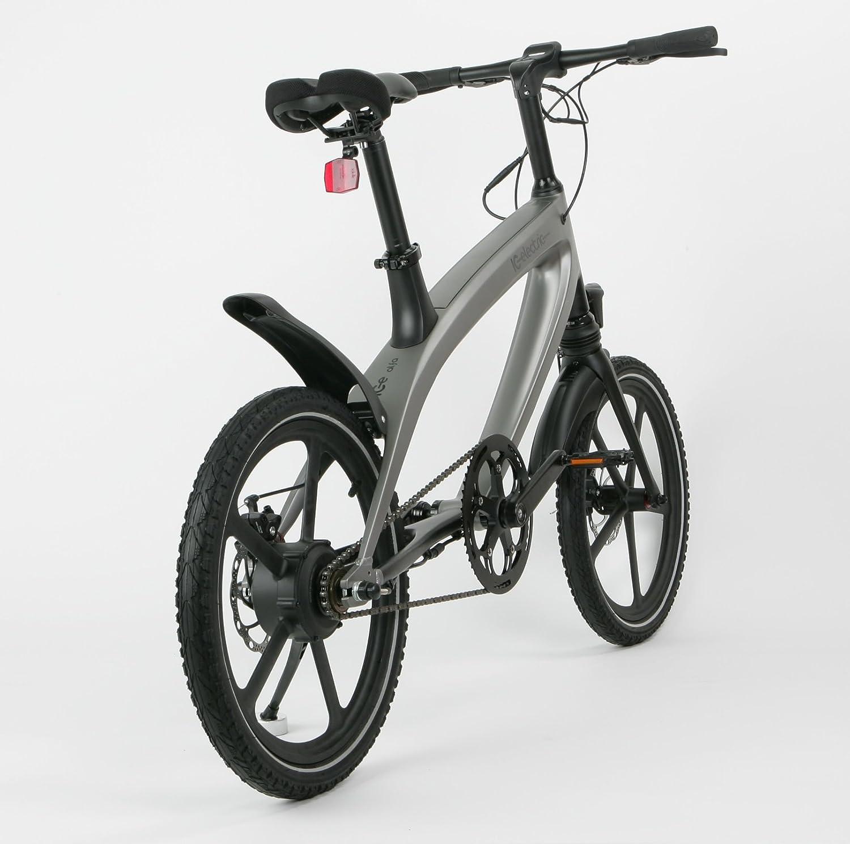 IC Electric Alfa Bicicleta Eléctrica, Plata, Talla Única: Amazon.es: Deportes y aire libre