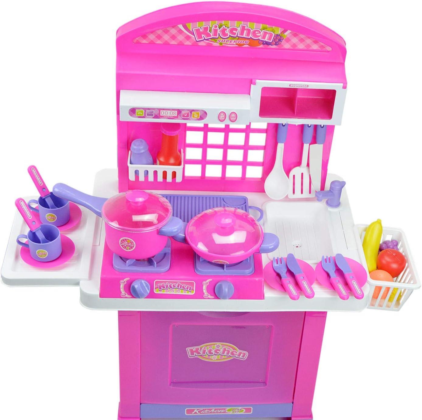 Inside Out Toys Cocina de Juguete para niños - Fogones Que se ...