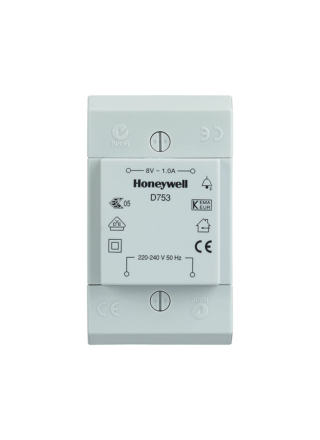 Honeywell D753 8V 1A Transformer: Amazon.co.uk: DIY & Tools