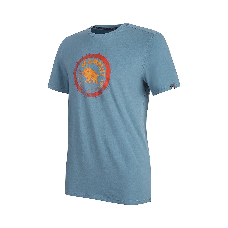 Mammut Seile Camiseta, Azul Hombre, Azul Camiseta, (Cloud), S e0c4d1