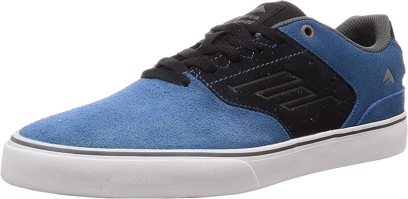 Emerica Reynolds Low Vulc Sneakers Damen Herren Unisex Blau/Schwarz