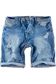 MERISH Vaqueros Cortos Hombre Jeans Rotos Bermuda Shorts Modell ... fba2072a757c