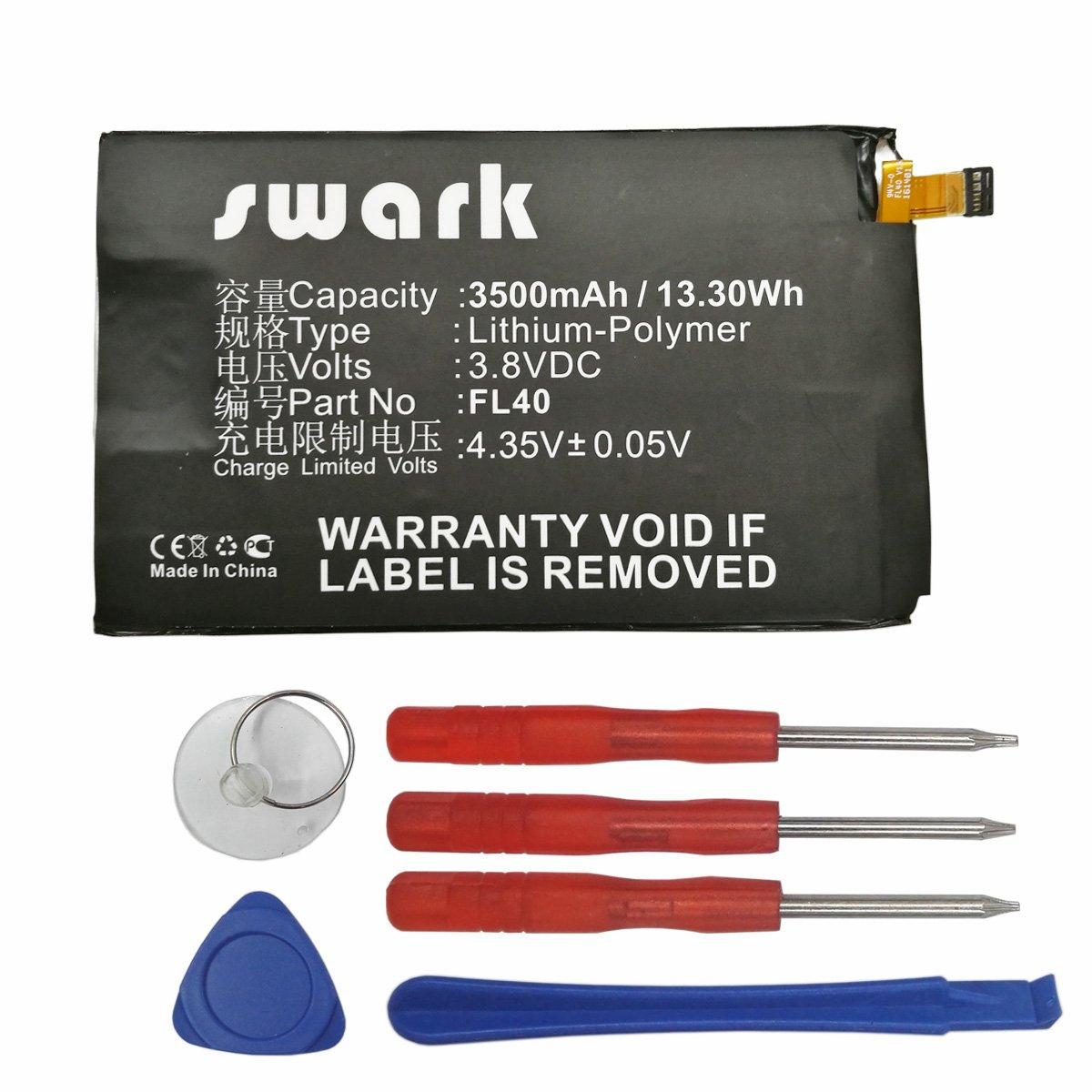 Bateria Celular Swark Fl40 Compatible Con Motorola Droid Maxx 2 Xt1565 Moto X Play 3a Dual Xt1543 Xt1544 Moto X Play Xt1