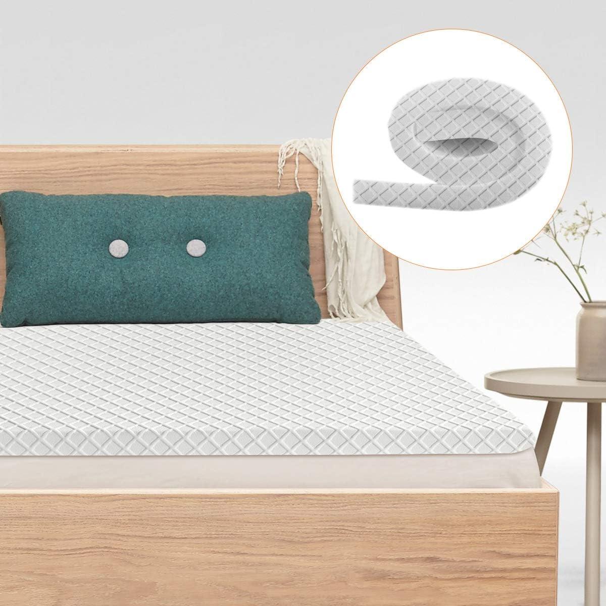 90 x 200 cm Gimify Materasso Singolo a Molle Insacchettate Sistema di Supporto a 7 Zone con Comodo Materasso Antivento in Tessuto Traspirante