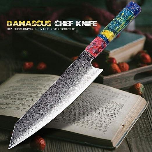 Compra Cuchillos Cuchillo de chef Nakiri 67 Las capas ...