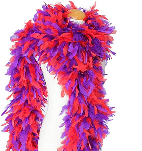 Cynthias Feathers 180g 80 Turkey Chandelle Feather Boas Over 25 Color /& Patterns Ivory