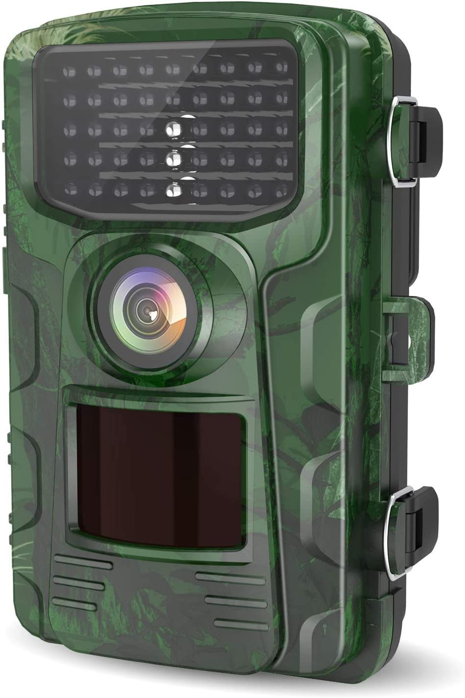 LETSCOM Trail Game Camera 14MP, IP65 Waterproof Wildlife Scouting Hunting Cams, 0.4s Trigger Speed, 42 Low Glow IR LEDs, 120 Wide Angle