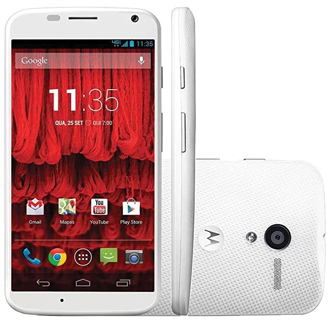 Motorola Moto X (XT1058) 16GB Unlocked GSM 4G LTE Android Phone w/ 10MP Camera - White