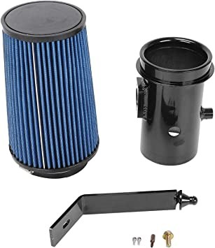 BETTERCLOUD Oiled Cold Air Intake Kit Fit for 2008-2010 Ford 6.4L Powerstroke Diesel F250 Black