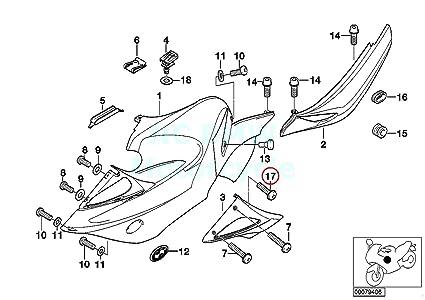 Amazon Com Oval Head Screw With Washer Automotive