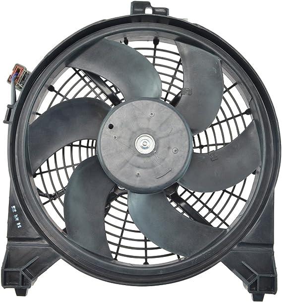 A/C Aire Acondicionado de CA condensador – Ventilador de refrigeración para Armada Titan QX56: Amazon.es: Coche y moto