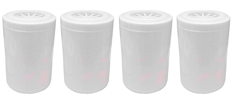 4 x Finerfilters cartuchos de filtro de ducha de repuesto