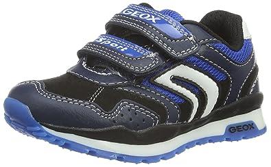 7177db5d54 Geox Boys' J Pavel 13 Sneaker, Navy/Royal, 30 EU(12
