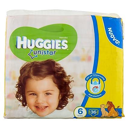 Huggies - Unistar - Pañales - Talla 6 (15 - 30 kg) - 2