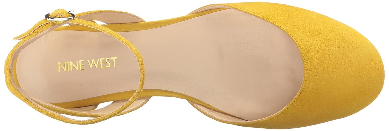 Nine West Women's Begany Suede Ballet Flat B01NBIDU6D 5.5 B(M) US Yellow