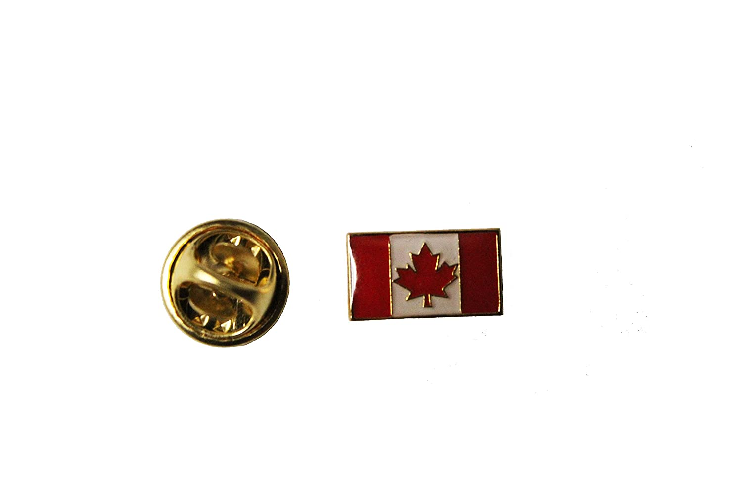 Canada Country Flag Extra Small Lapel Pin Badge Size : 0.5 x 0.3 inch (1.3 x 0.8 cm) New _