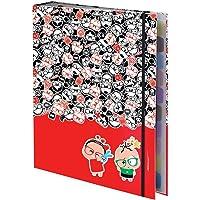 Caderno Argolado Universitário Monica Toy com 48 Folhas, DAC, Caderno Argolado Universitário Monica Toy Com 48 Folhas 2627, Multicor
