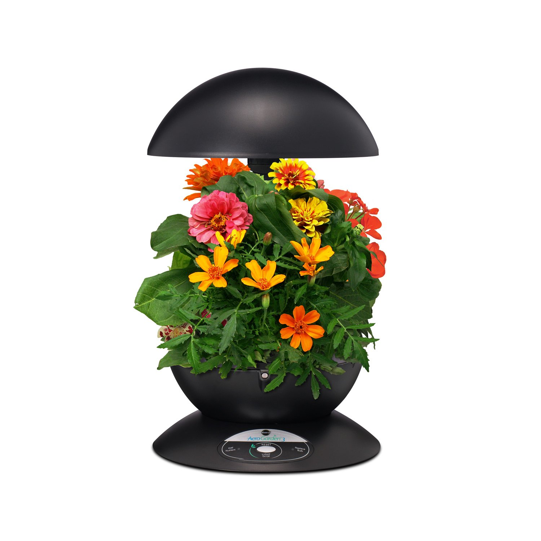 Miracle Gro AeroGarden 3 Pod Indoor Garden with Gourmet Herb Seed