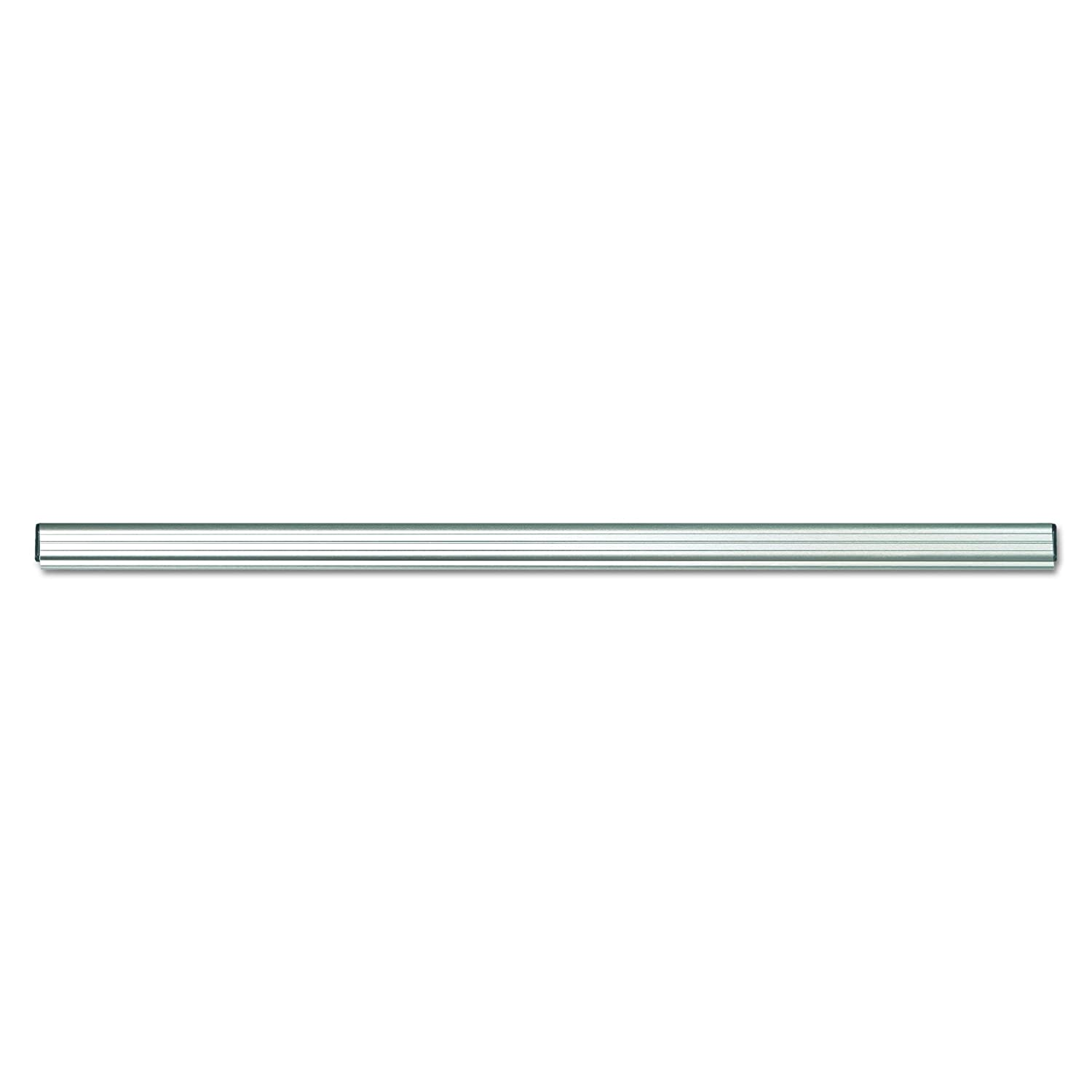 ADVANTUS Grip-A-Strip Display Rail, Full Size, 6 Feet Long, Satin Finish Aluminum (2012) Advantus Corp.- Office