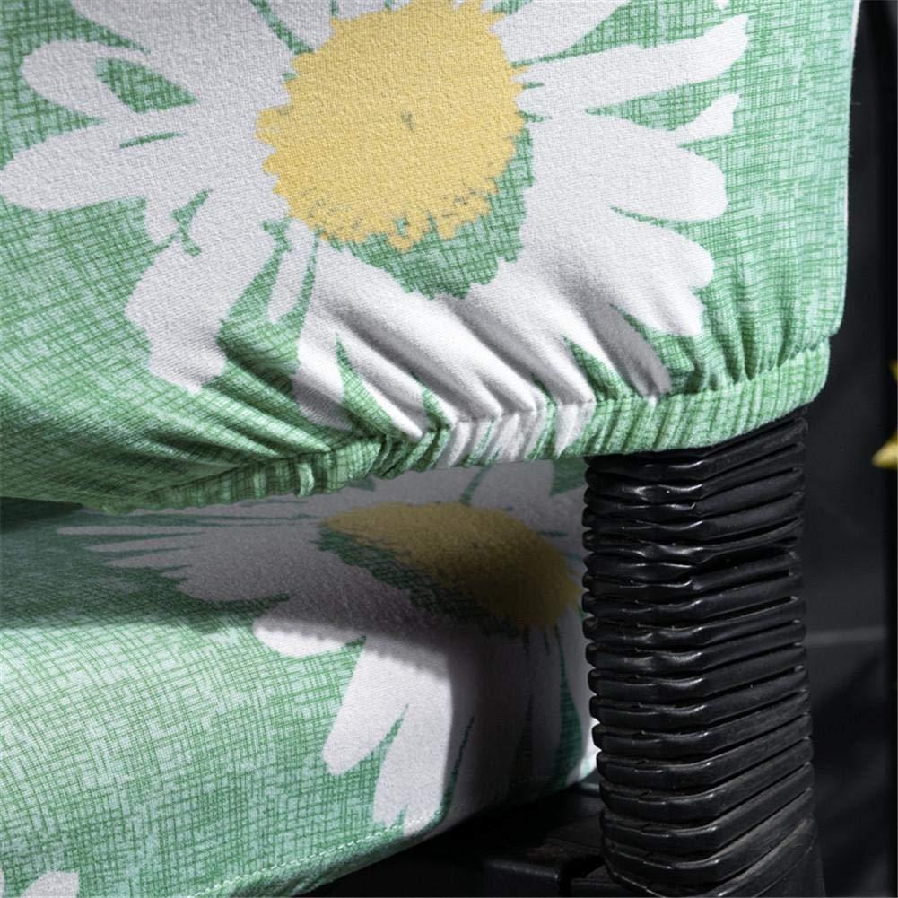 herausnehmbarer bedruckter dehnbarer Computer-B/üro-Stuhlbez/üge Supertop Geteilter drehbarer Sitzbezug