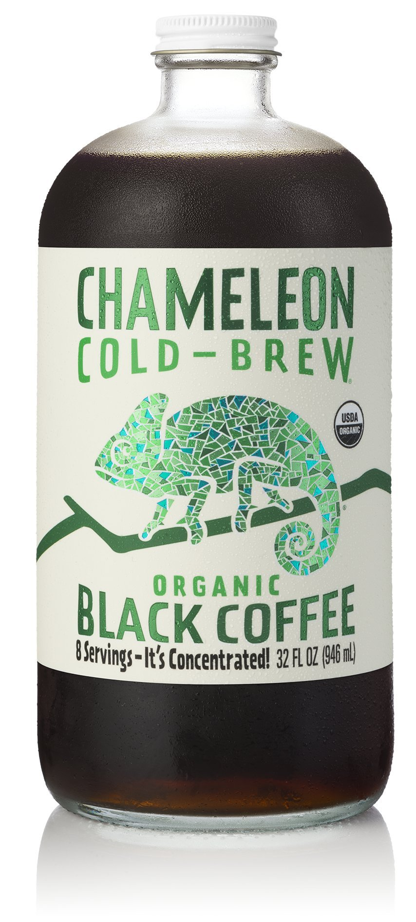 Chameleon Cold-Brew Black Coffee Concentrate 6 pack by Chameleon Cold Brew