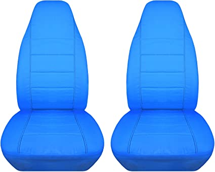 Awesome Solid Car Seat Covers Light Blue Semi Custom Fit Front Will Make Fit Any Car Truck Van Suv 22 Colors Ibusinesslaw Wood Chair Design Ideas Ibusinesslaworg