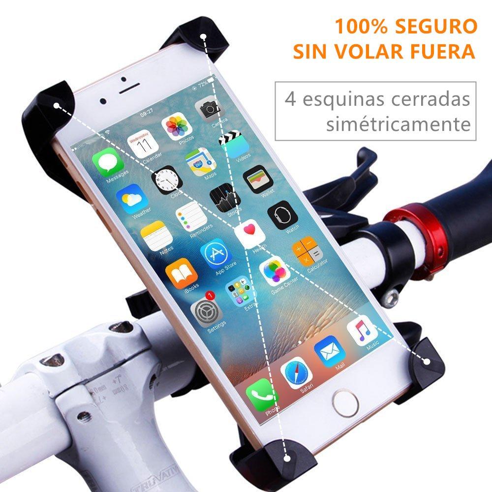 soporte de teléfono móvil para bicicleta