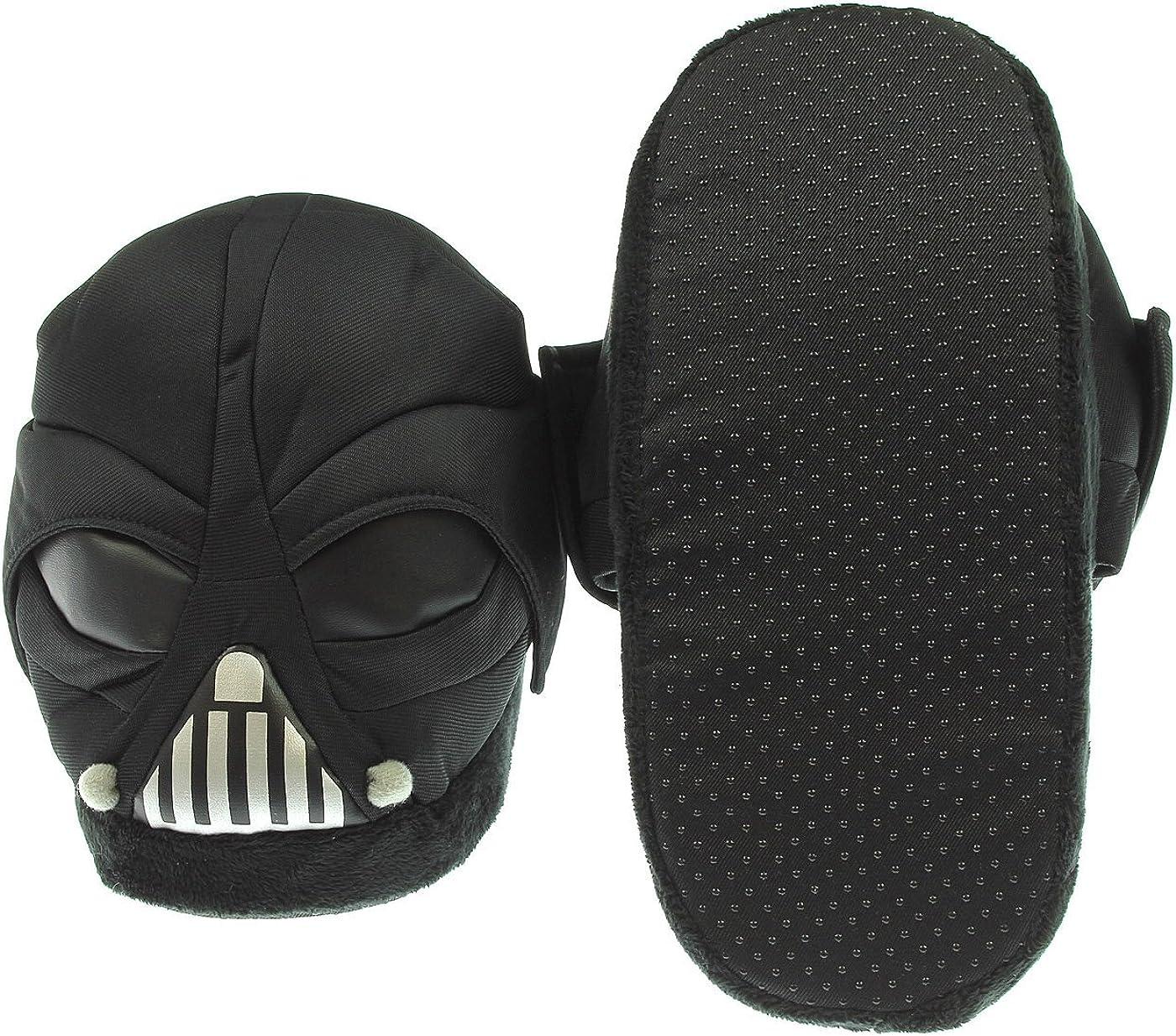 Star Wars Darth Vader 3D Plush Slippers New BIOWORLD