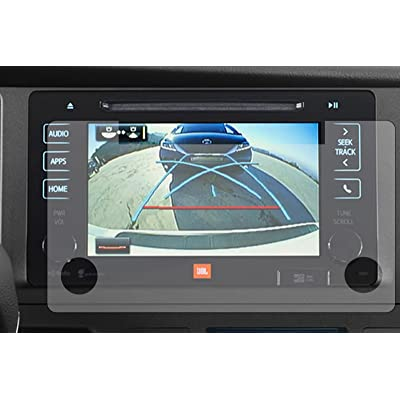 """PcProfessional Screen Protector (Set of 2) for 2020 Toyota Tacoma 7"""" Entune Infotainment Display High Definition Anti Scratch Filters UV: GPS & Navigation"""