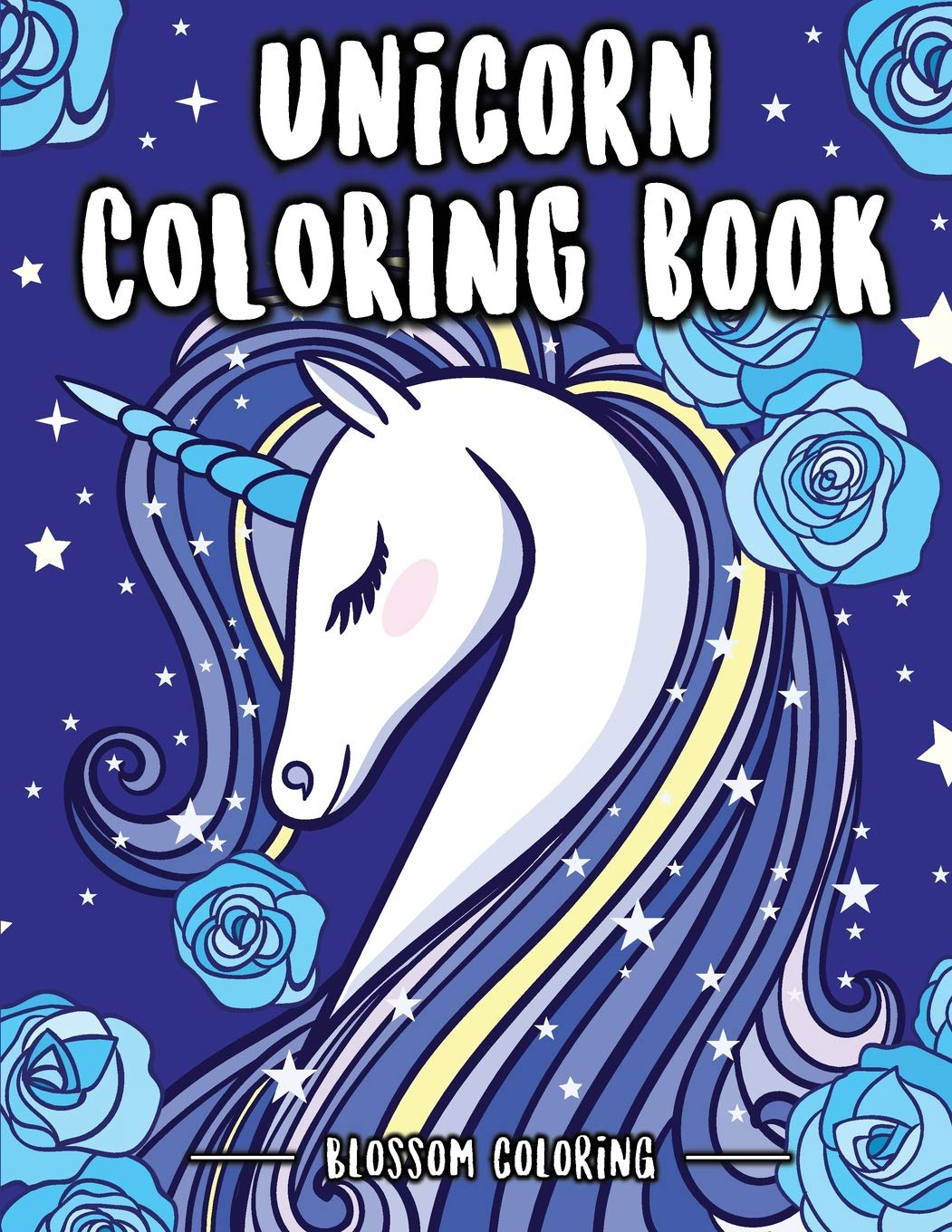 Follow the author blossom coloring