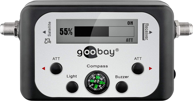 Wentronic 67140 Amplificador señal de TV - Amplificador de señal de TV (F, 128 x 28 x 68 mm, Negro) (Importado)