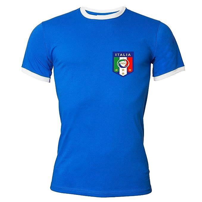 Rule Out Camiseta Ropa para fans Italiano Fútbol Equipo italia. Campeones Fútbol supporter. sportswear. casuall: Amazon.es: Ropa y accesorios