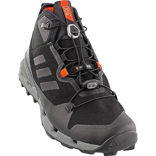 adidas outdoor Men's Terrex Fast GTX-Surround Mid Black/Black/Vista Grey 12 D US