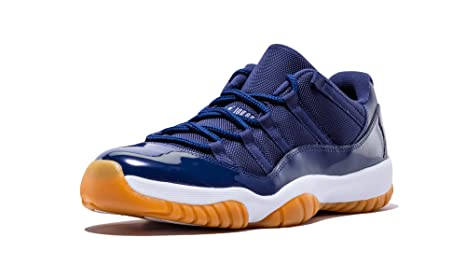 3f29fcaaf55 Image Unavailable. Image not available for. Colour: Jordan Mens Air Retro  11 XI Low Midnight Navy ...