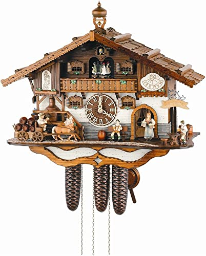 Anton Schneider Cuckoo Clock 8TMT3414 9