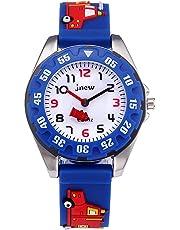 Kinder Analog Uhren für Jungen Mädchen, Kinder Sport Wasserdicht 3D Cute Cartoon Uhr, Armbanduhr Jungen Mädchen Teaching Handgelenk Uhren Kleinkinder Geschenk