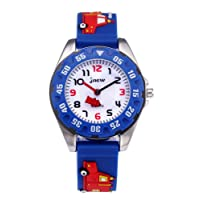 Kids Analog Watches for Boys Girls, Childrens Sports Waterproof 3D Cute Cartoon Toy Watch, Boys Girls Teaching Wrist Watches Toddler Gift