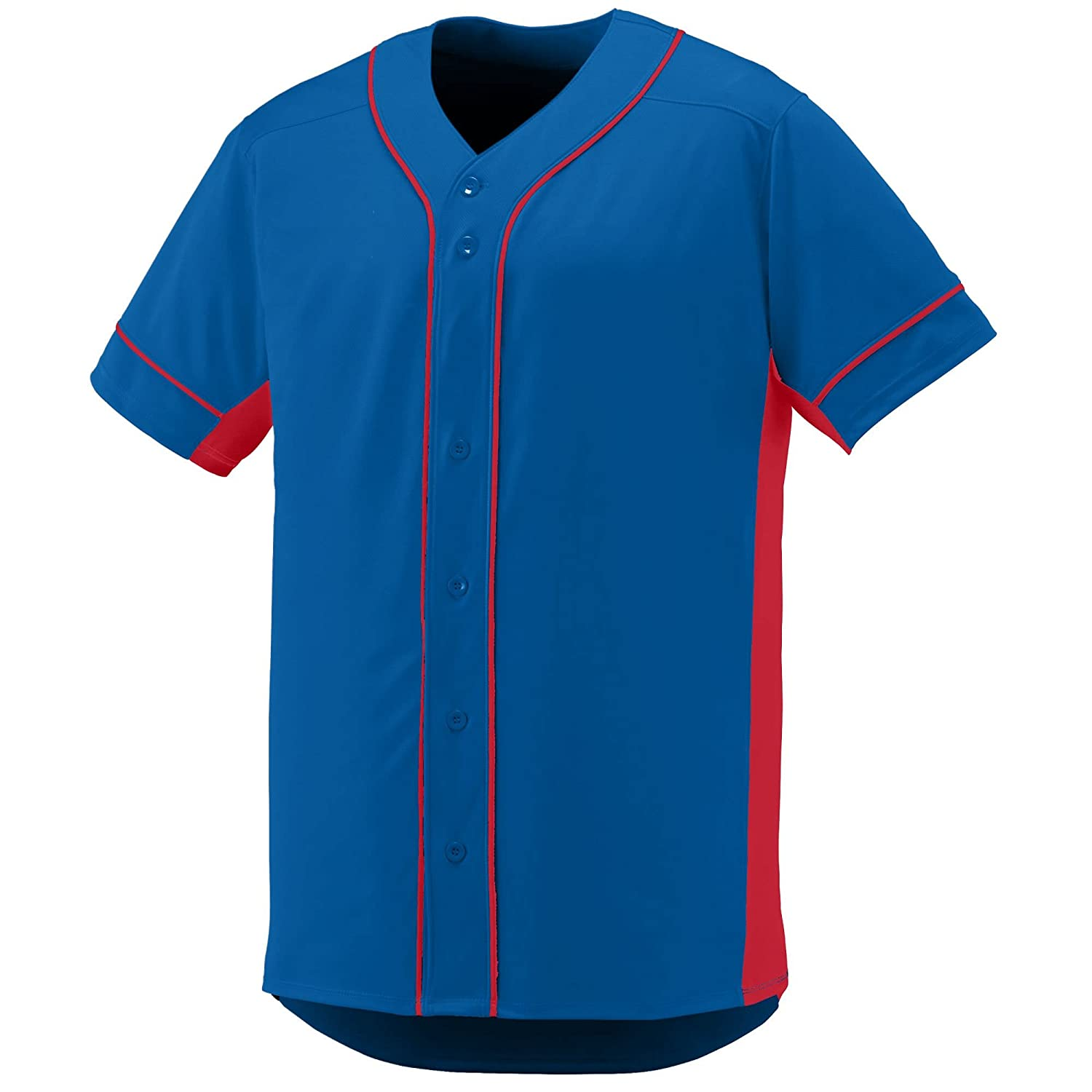 Augusta Sportswear Boys' Slugger Baseball Jersey M Royal/Red